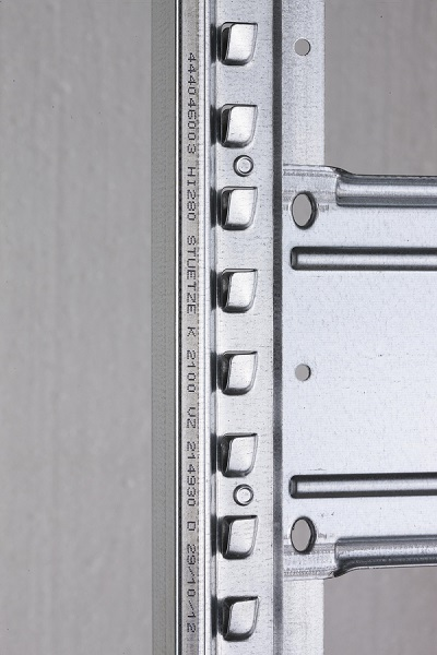 Dexion kapcsolható állvány profil.