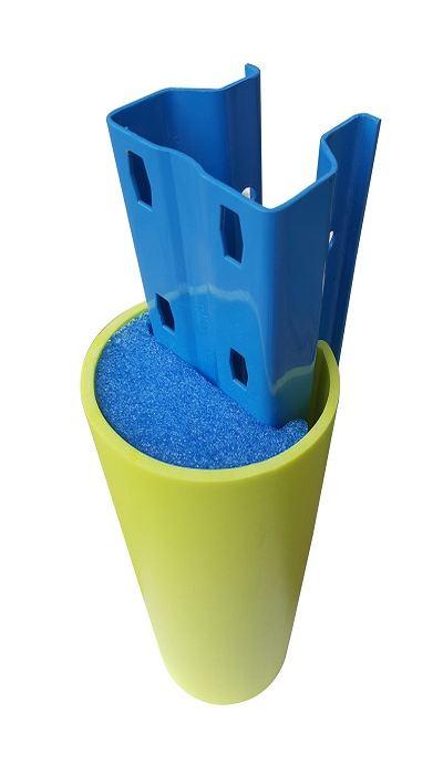 Műanyag oszlopvédő